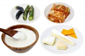 乳酸菌が含んだ発酵食品
